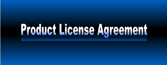 Our Product License Agreement