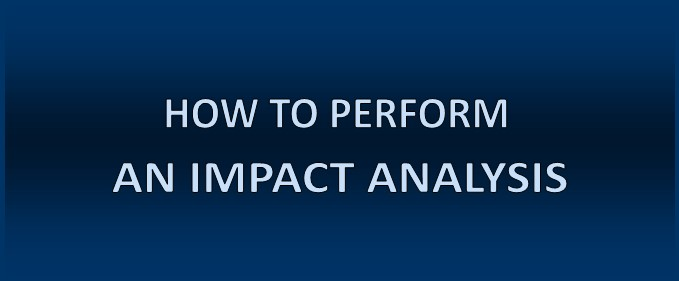 Impact Analyis: How to Analyze the Impact Hazards Could Have