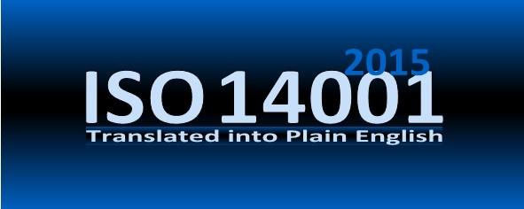 ISO 14001 2015 in Plain           English