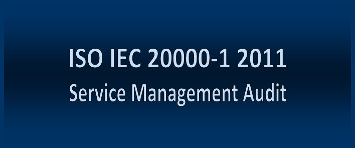 ISO           IEC 20000-1 2011 Service Management Audit Tool