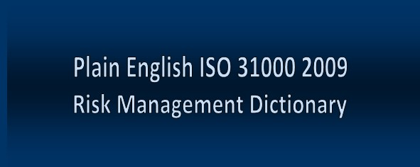 ISO 31000 2009         Definitions in Plain English