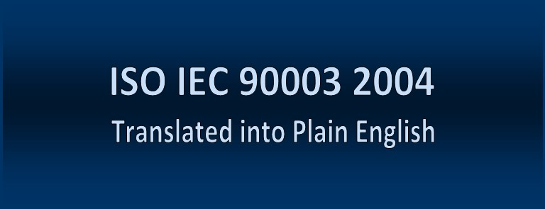 ISO IEC 90003 2004 Translated into Plain English