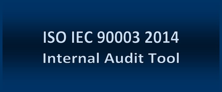 ISO IEC 90003 Software Quality Management Audit Tool