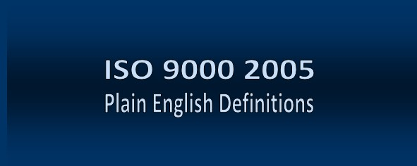 ISO 9000 2005 Definitions
