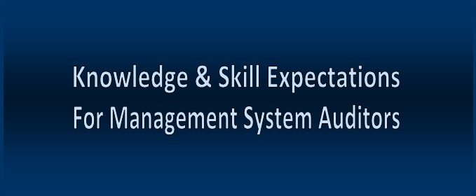 Knowledge and Skills Auditors Should Have