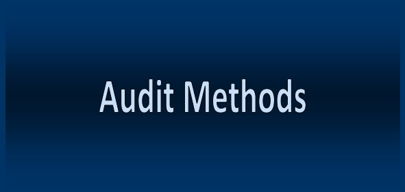 Audit Methods