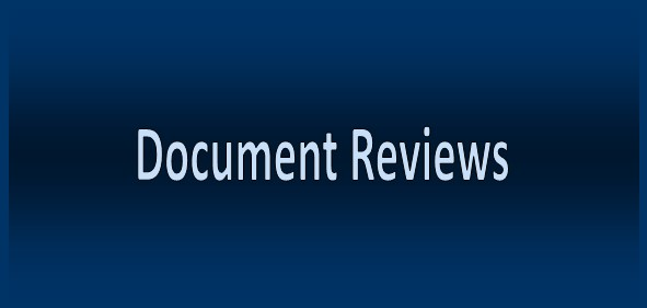 Document Reviews