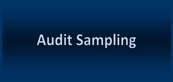 advantages of audit sampling