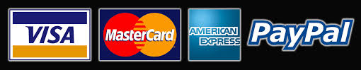 PayPaccepts Visa, MasterCard, and American Express