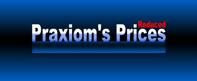 Praxiom's           Product Prices