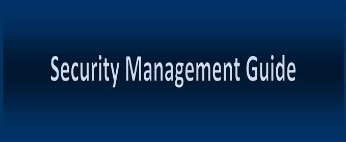 Security Management Guide